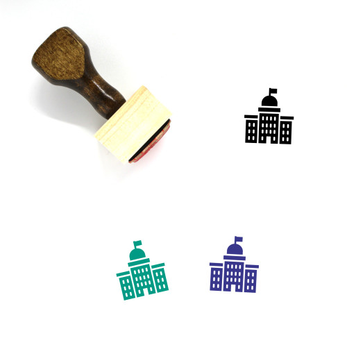 Court Wooden Rubber Stamp No. 183