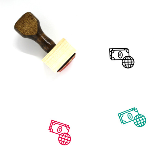 Investment Wooden Rubber Stamp No. 131