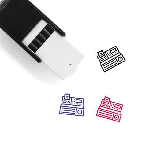 Cash Machine Self-Inking Rubber Stamp No. 30