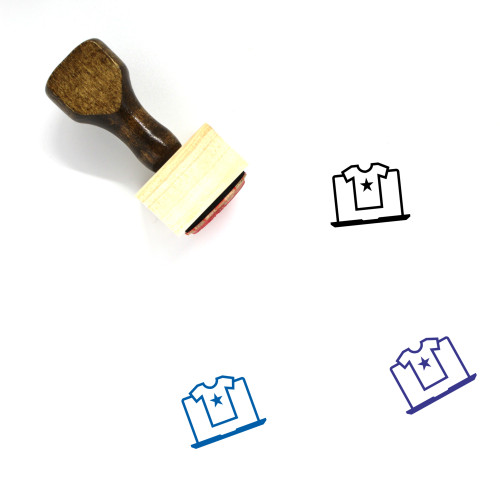 Online Shopping Wooden Rubber Stamp No. 87