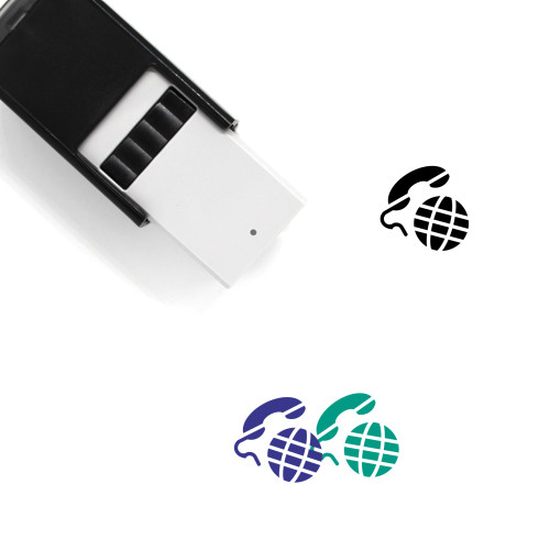 Global Self-Inking Rubber Stamp No. 162