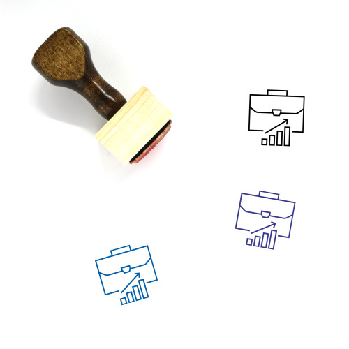 Career Wooden Rubber Stamp No. 43