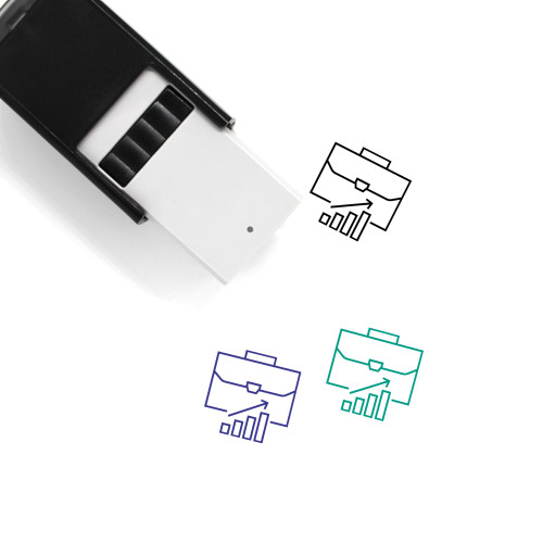 Career Self-Inking Rubber Stamp No. 43