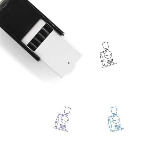 Siphon Coffee Self-Inking Rubber Stamp No. 1