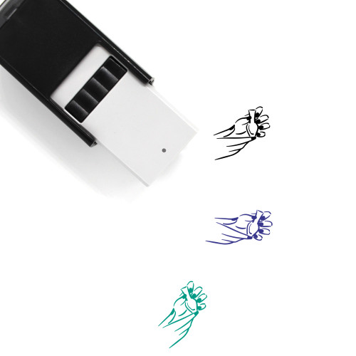 Manicure Self-Inking Rubber Stamp No. 38