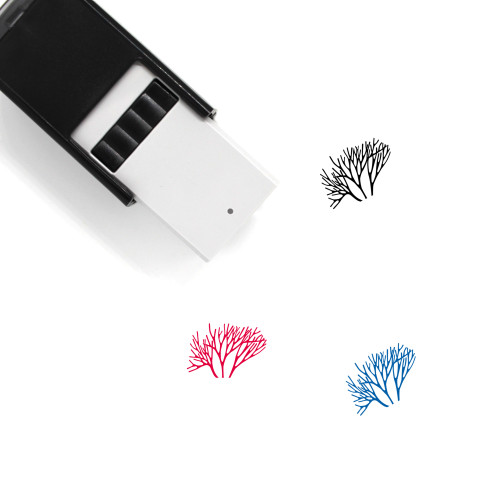 Coral Self-Inking Rubber Stamp No. 10