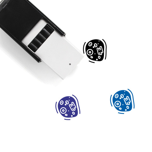 Cell Self-Inking Rubber Stamp No. 80