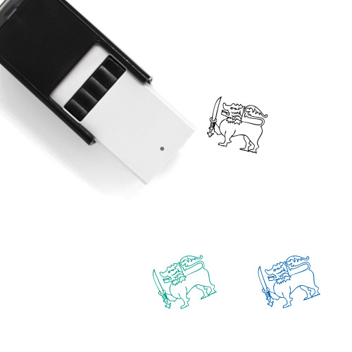 Lion Self-Inking Rubber Stamp No. 188
