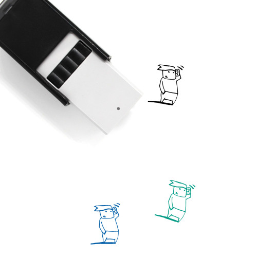 Phone Call Self-Inking Rubber Stamp No. 102