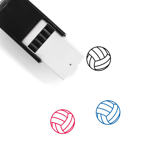 Volleyball Self-Inking Rubber Stamp No. 52