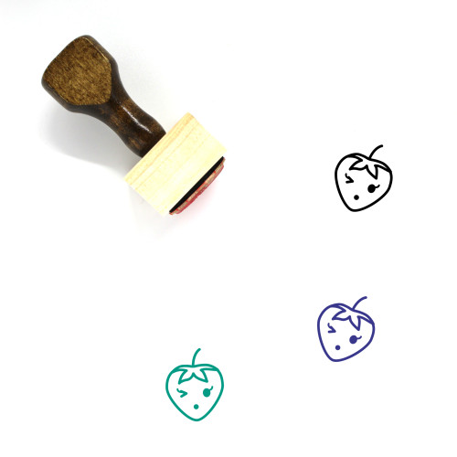 Speechless Wooden Rubber Stamp No. 111