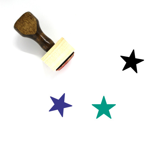 Rating Wooden Rubber Stamp No. 116