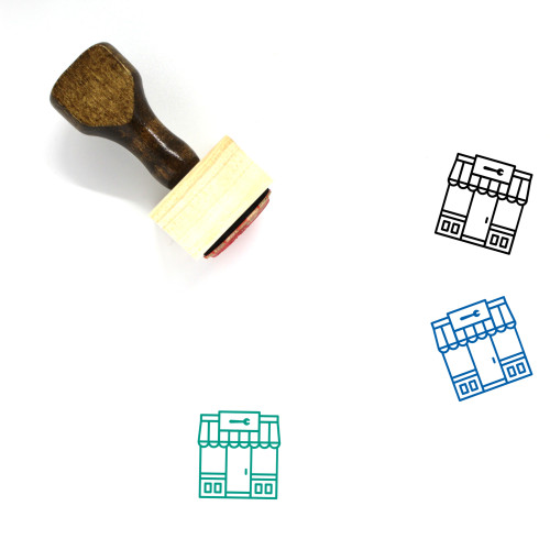 Hardware Wooden Rubber Stamp No. 5