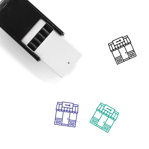 Hardware Self-Inking Rubber Stamp No. 5
