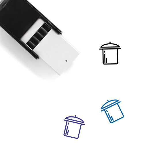 Pot Self-Inking Rubber Stamp No. 93