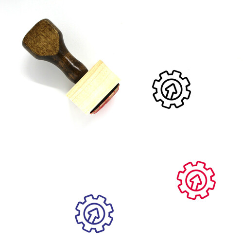 Compliance Wooden Rubber Stamp No. 16