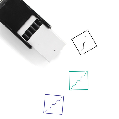 Profit Graph Self-Inking Rubber Stamp No. 1