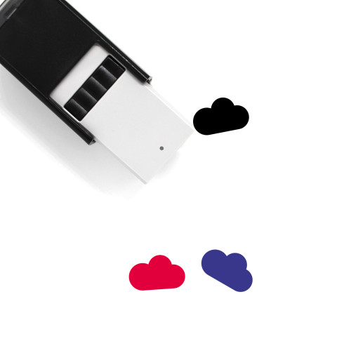 CLOUD BLACK Self-Inking Rubber Stamp No. 1