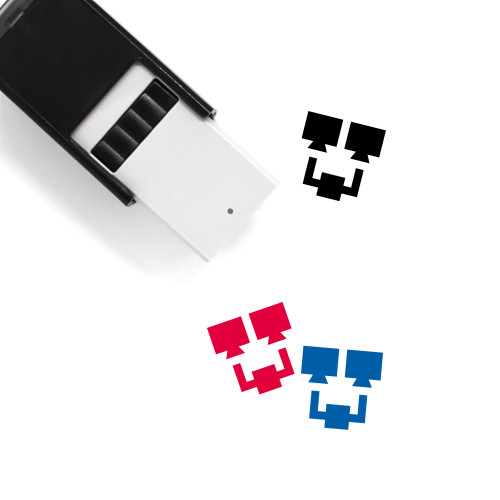 Computer Network Self-Inking Rubber Stamp No. 7