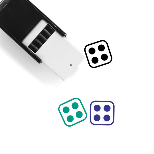 Dice Self-Inking Rubber Stamp No. 179
