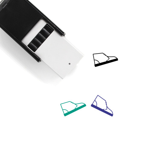 Chukka Boot Self-Inking Rubber Stamp No. 1