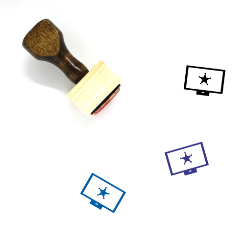 Protect Wooden Rubber Stamp No. 155