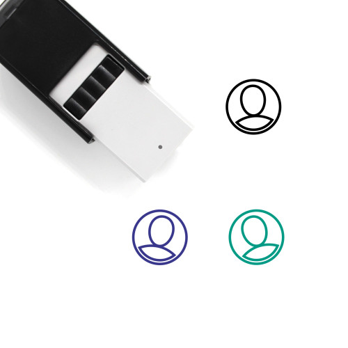 Male User Self-Inking Rubber Stamp No. 45