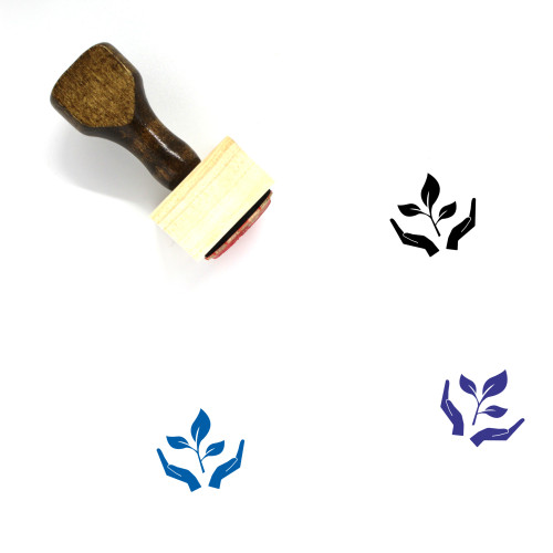 Agriculture Wooden Rubber Stamp No. 34