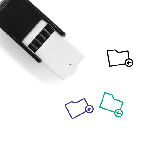 Previous Folder Self-Inking Rubber Stamp No. 3