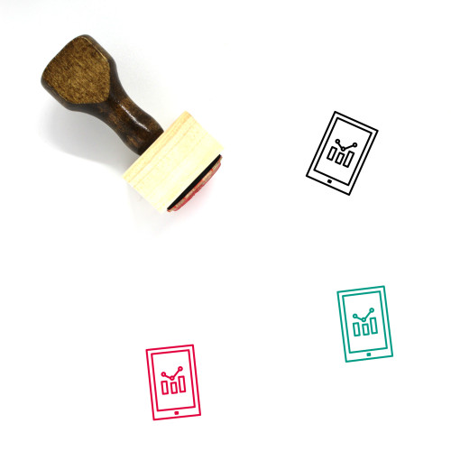 Commerce Wooden Rubber Stamp No. 60