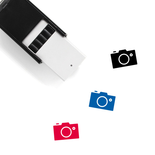 Photo Post Self-Inking Rubber Stamp No. 1