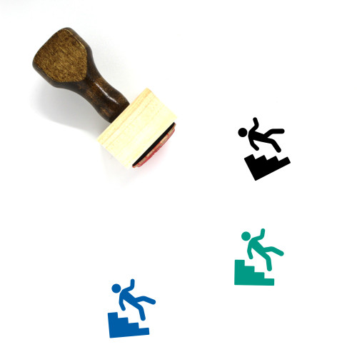 Accident Wooden Rubber Stamp No. 18