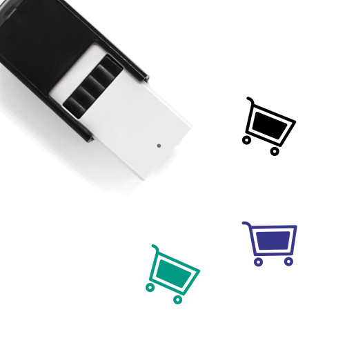 Shopping Cart Self-Inking Rubber Stamp No. 334