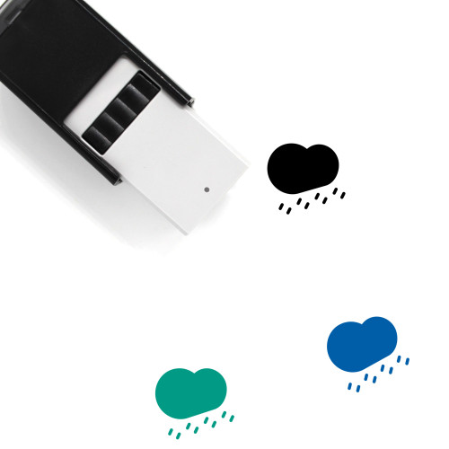 Rain Self-Inking Rubber Stamp No. 180