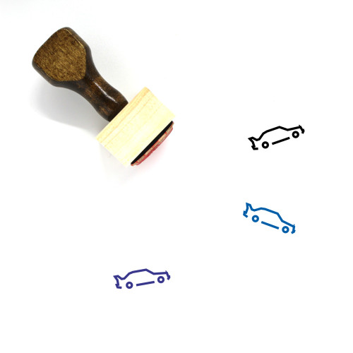 Mercedes E190 Evoluzione Wooden Rubber Stamp No. 1