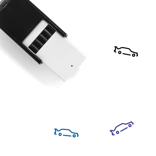 Mercedes E190 Evoluzione Self-Inking Rubber Stamp No. 1