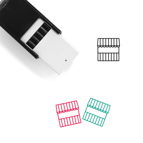 Carnival Self-Inking Rubber Stamp No. 35