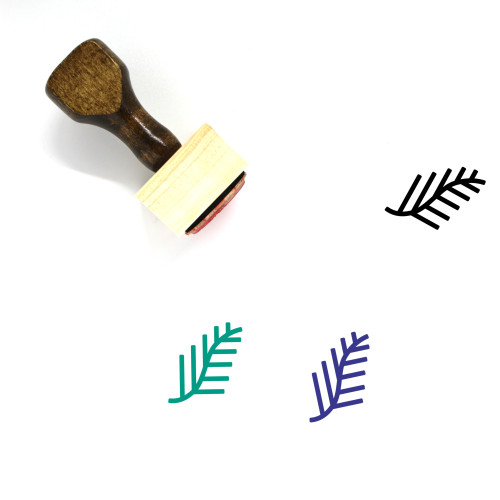 Palm Wooden Rubber Stamp No. 170