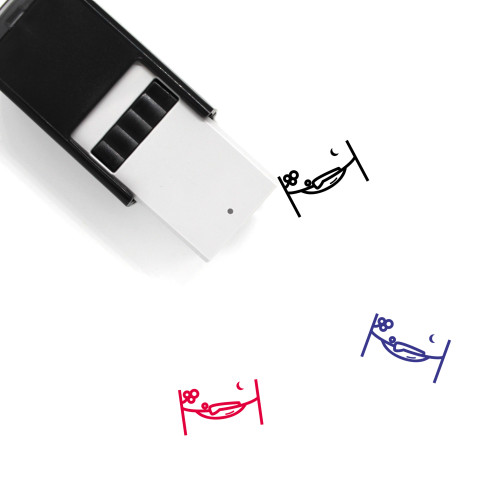 Hammock Self-Inking Rubber Stamp No. 73