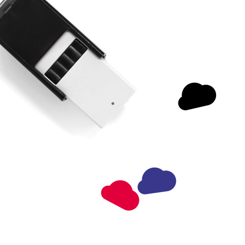 Cloud Self-Inking Rubber Stamp No. 394