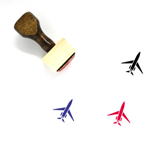 Aircraft Wooden Rubber Stamp No. 176