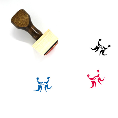 Tango Wooden Rubber Stamp No. 4
