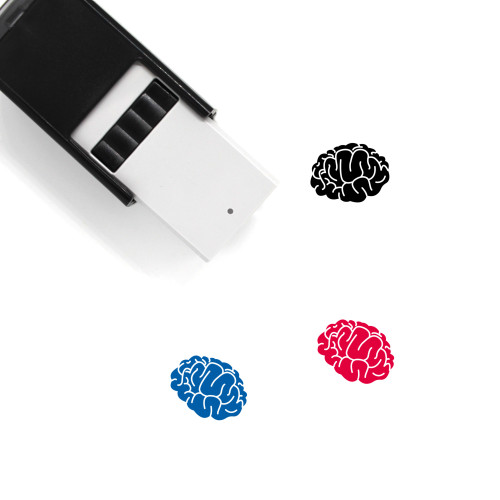 Brain Self-Inking Rubber Stamp No. 187