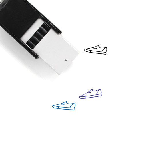 Sneakers Self-Inking Rubber Stamp No. 41