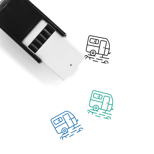 RV Self-Inking Rubber Stamp No. 26