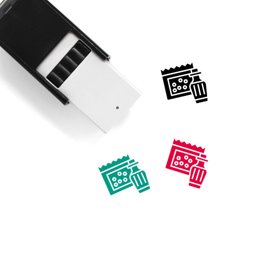 Cola Self-Inking Rubber Stamp No. 38