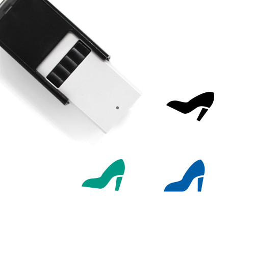High Heel Self-Inking Rubber Stamp No. 81