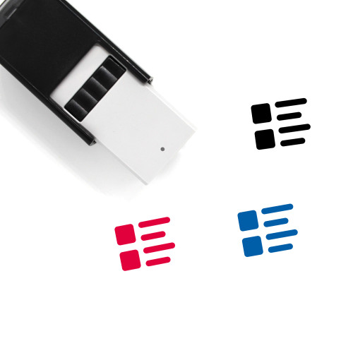 Item Self-Inking Rubber Stamp No. 16