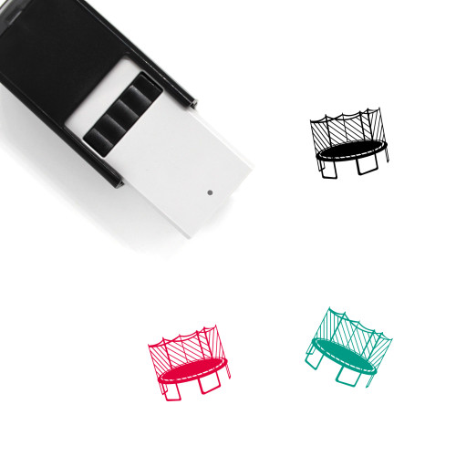 Trampoline Self-Inking Rubber Stamp No. 11