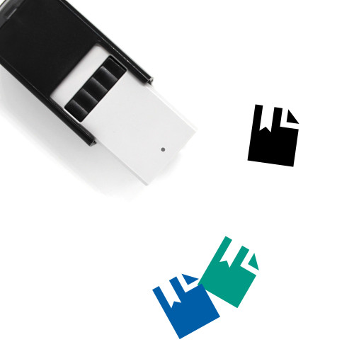 Bookmark Self-Inking Rubber Stamp No. 201